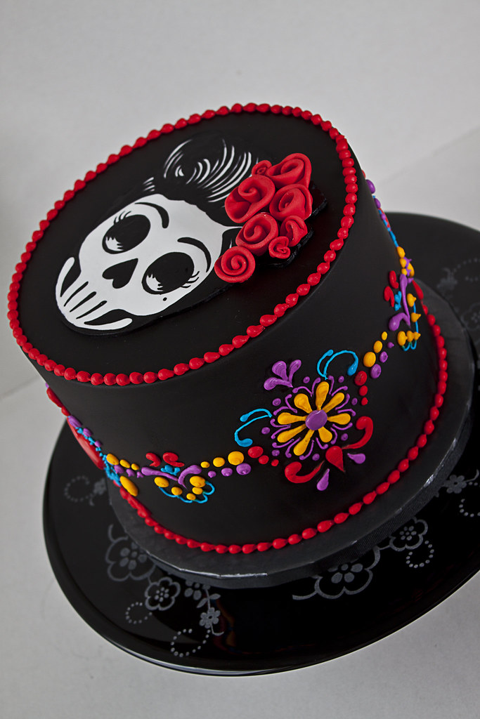 The world 39 s best photos of 40th and skull flickr hive mind - Fotos de pasteles decorados ...