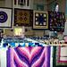 Annual Quilt Show, St, Paul's Episcopal Church, Waddington NY. Photo: Dan Denney.