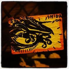 SHIDA (billy craven) Tags: chicago graffiti sticker handstyles shida slaptag uploaded:by=instagram
