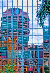 Brisbane Reflections. Brisbane, Australia. 2012 (PROSECMAN) Tags: glass reflections australia brisbane queensland stjohnschurch cathedralsquare glassreflections tomcrossanphotography cathedralsquarebrisbane stjohnschurchbrisbane
