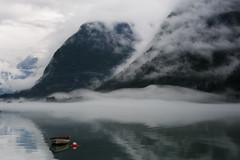 Fjaerland__124.jpg (jackie weisberg) Tags: mist mountain mountains norway misty fog boats boat europe foggy glacier glaciers rowboat fjord fjords fjaerland redrowboat jackieweisberg