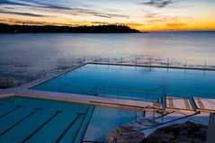 Bondi Icebergs (sebr) Tags: ocean tourism water bondi swimming sunrise dawn twilight sydney bondibeach bondiicebergs oceanpool seeaustralia