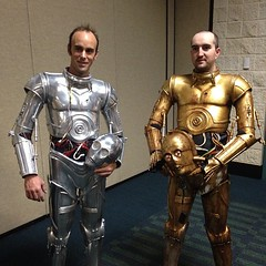 instagram1 (gordontarpley) Tags: 6 star costume orlando florida celebration suit armor wars build vi droid c3po 2012 protocol threepio k3po e3po
