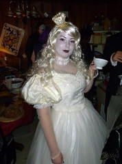 The White Queen at Kari and Owen's Halloween Party 2012 (benchilada) Tags: party halloween kari owen 2012