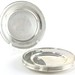 2039. Six Sterling Silver Bread Plates