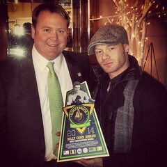 """Collaborating with Mr. Josh Rooney and the team at Matthews International to create these inaugural awards for the #Donnybrook Ambassador's Cup this past St. Patrick's Day. Team Pittsburgh successfully kept the cup here in Pittsburgh. Congrats to all of t • <a style=""""font-size:0.8em;"""" href=""""https://www.flickr.com/photos/62467064@N06/13299218295/"""" target=""""_blank"""">View on Flickr</a>"""