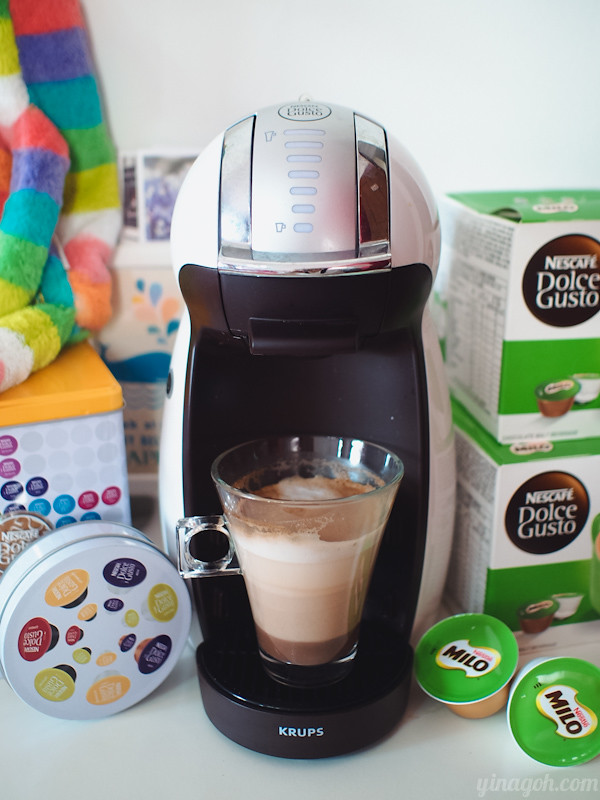 new in town: nescafe dolce gusto milo! | yina goes