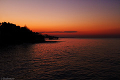 Before Sunrise (Skyfreezer (Happy Easter everyone)) Tags: sea beach beautiful turkey dawn meer silent dusk calming bank calm trkei dmmerung alanya gloaming morgengrauen beruhigend