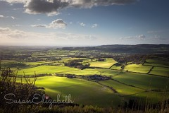 View from Sutton Bank Yorkshire on Monday afternoon (Sue Loft) Tags: uk england sky sunlight green beautiful beauty clouds canon wow landscape evening spring scenery afternoon view yorkshire relaxing scenic restful calming bank land vista rolling sutton pleasant chilled 1755mm 60d