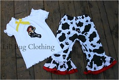 Toy Story (Lil' Bug Clothing) Tags: jessie toy capri outfit top story peasant