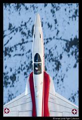 Patrouille Suisse (2011) (Ismael Jorda) Tags: team fighter suisse display swiss aviation military flight f5 pilot patrouille