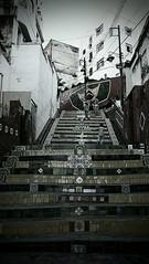Rio de Janeiro (danielhendrikx) Tags: rio janeiro brasil photography photo photos fuji travel trip vacation holiday outdoor portrait day blackandwhite bw steps art mosaic