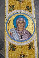 2016-05 Mosaics Phase XI Installation IMG_0780 (Greek Orthodox Church of the Holy Cross) Tags: california church greek us belmont mosaic orthodox iconography tonelli