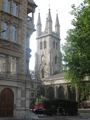 St Sepulcre's Church (John Steedman) Tags: uk greatbritain england london church unitedkingdom grossbritannien     grandebretagne     stsepulcres