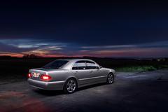 IMG_3585 OK (Ondej Zeman) Tags: car night photography mercedes benz e w210