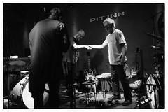Otomo Yoshihide/Yasuhiro Yoshigashi/Hiroshi Yamazaki @ Shinjuku Pit Inn, Tokyo, 27th April 2016 (fabiolug) Tags: leica blackandwhite bw music monochrome 35mm drums tokyo blackwhite concert shinjuku guitar live gig livemusic performance rangefinder summicron improvisation drummer trio pitinn improv monochrom biancoenero electricguitar leica35mm leicam 35mmsummicronasph otomoyoshihide leicasummicron summicron35mmf2asph  35mmf2summicronasph summicronm35mmf2asph mmonochrom leicammonochrom leicamonochrom shinjukupitinn yasuhiroyoshigashi hiroshiyamazaki