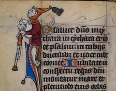 GB - London - British Library - Stowe 17\44 (Wilfried Praet) Tags: bagpipe doedelzak cornemuse