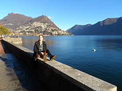 Lugano-upskirt (faberlatusm - 50 mio views) Tags: blue lake sexy tourism sports stockings shopping spread switzerland legs boots pussy shaved lips upskirt brunette lovely lugano teasing blackdress shortskirt spreading bottomless publicupskirt stockingtop