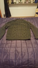 Green thich wool sweater (Mytwist) Tags: classic wool fashion vintage knitting craft style passion knitted pullover authentic laine vouge mytwist
