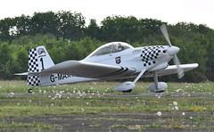 G-MAXV (goweravig) Tags: uk swansea wales aircraft vans visiting teamleader rv4 raven1 swanseaairport gmaxv