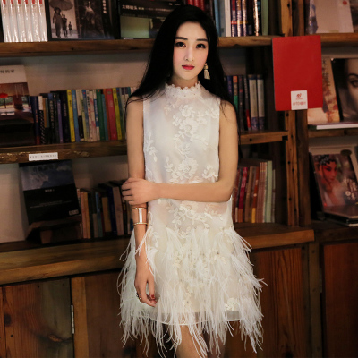 Spring and summer of 2016 new Crystal tattoo embroidery hanging neck