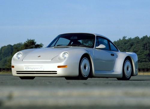 Porsche Gruppe B. 1983 год