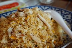 ข้าวผัดปู เมนูอร่อย ร้านทะเลทิพ คลอง4 รังสิต ธัญบุรี