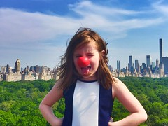 Red Nose Day New York City (dannydalypix) Tags: nyc centralpark rednoseday