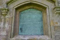 Barnweil Monument, Ayrshire. Right Side Information Plaque. (Phineas Redux) Tags: scotland ayrshire sirwilliamwallace scottishmonuments ayrshirescenes barnweilmonumentayrshire