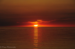 Lake of Gold (Explored on June 07, 2016) (priyasharma24) Tags: light orange sun lake newyork color reflection beach landscape gold lowlight greatlakes shore lakeontario ontariolake