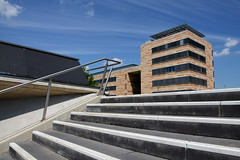 MPI C (rainbowcave) Tags: building stair steps treppe universitt railing mainz fh gebude stufen gelnder mpic