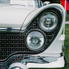 Lincoln Continental MkV (Iain Compton) Tags: car classiccar filmphotography kiev10 cassoviaclassic