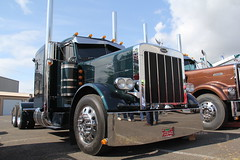 ATHS National 2016 (22) (RyanP77) Tags: aths truck show salem oregon peterbilt kw kenworth logger cabover pete freightliner marmon dump semi