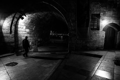 Late, but I had to say something... (zgr Grgey) Tags: street shadow bw blur lines night lowlight nikon alone geometry istanbul d750 20mm voigtlnder darkcity 2016 eminn yenicamii