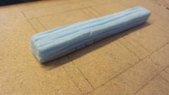 'Wood' Panel (Frankie Wright) Tags: blue motion set model handmade craft stop foam animation making texturing
