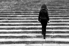 Paso a paso (osruha) Tags: blackandwhite bw espaa blancoynegro stairs spain nikon flickr steps catalonia girona bn d750 catalunya catalua escaleras gerona blancinegre pasos escales espanya pases