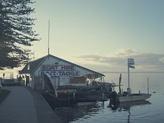 Evening Boathouse (jeremy-o) Tags: theentrance x100 eyefi vsco mobileworkflow