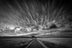 Thunderstorm (Gruenewiese86) Tags: street sky blackandwhite black nature monochrome clouds canon mono natur felder wolken filter tamron weiss gewitter schwarz harz haida wernigerode 6d haid mammatus 1530 unwetter weis sachsenanhalt strase wwwohenzede ohenze