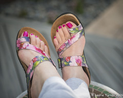 -20160630Retirement and Me10-Edit (Laurie2123) Tags: laurieturner laurieturnerphotography laurie2123 apartofme backyard feet me portrait selfportrait selfie woman retirement relax relaxation