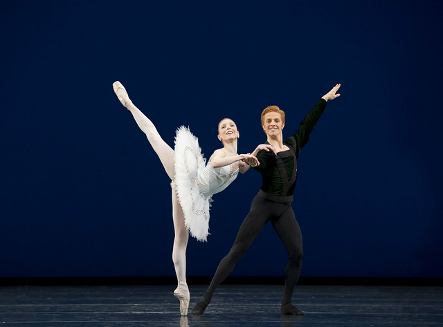 "Sarah Lamb and Steven McRae in George Balanchine's Symphony in C.  <a href=""http://www.roh.org.uk/productions/symphony-in-c-by-george-balanchine"" rel=""nofollow"">www.roh.org.uk/productions/symphony-in-c-by-george-balanc...</a>"