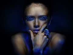 Nastya (Oleg Ti) Tags: beauty model gels absoluteblue alwaysexc