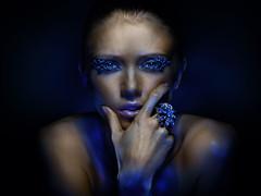 Nastya (Oleg Ti) Tags: beauty model gels absoluteblue alwaysexc