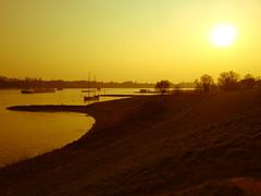 Dsseldorf Redscale (Xray40000) Tags: sunset germany sonnenuntergang dsseldorf landschaft rhein