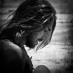 F.T. (Simona Pellegrini) Tags: texture surf mare foto capelli immagine profilo federicotenerini