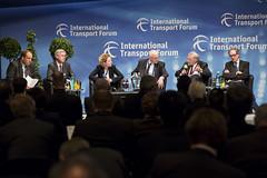 The panel debates