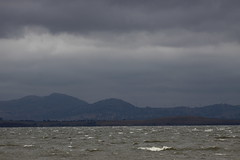 Mt Misery (blachswan) Tags: water waves australia victoria windtowers mtmisery lakeburrumbeet waubrawindfarm mtercildoune