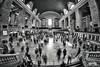 Grand Central rush hour (bgspix) Tags: nyc newyorkcity longexposure bw ny newyork station canon us interesting manhattan fisheye grandcentral 8mm samyang 60d benjamings bgsphotography bgspix