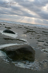 Rocks and Rays 1 (btish2003) Tags: ocean sea summer sky sun beach water beauty rock sunrise rising coast sand rocks surf trish tide salt shoreline wells atlantic coastal shore sunrays majestic atlanticocean rockycoast wellsbeach trishgrant trishgrantphotography btish2003 trishleise