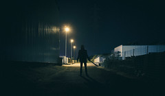 Alone in the Dark (DonMercedes) Tags: canon dark 50mm alone zombie fear murder 5d f18 peur