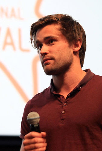 Christian Cooke after the screening of Unconditional at the Cineworld